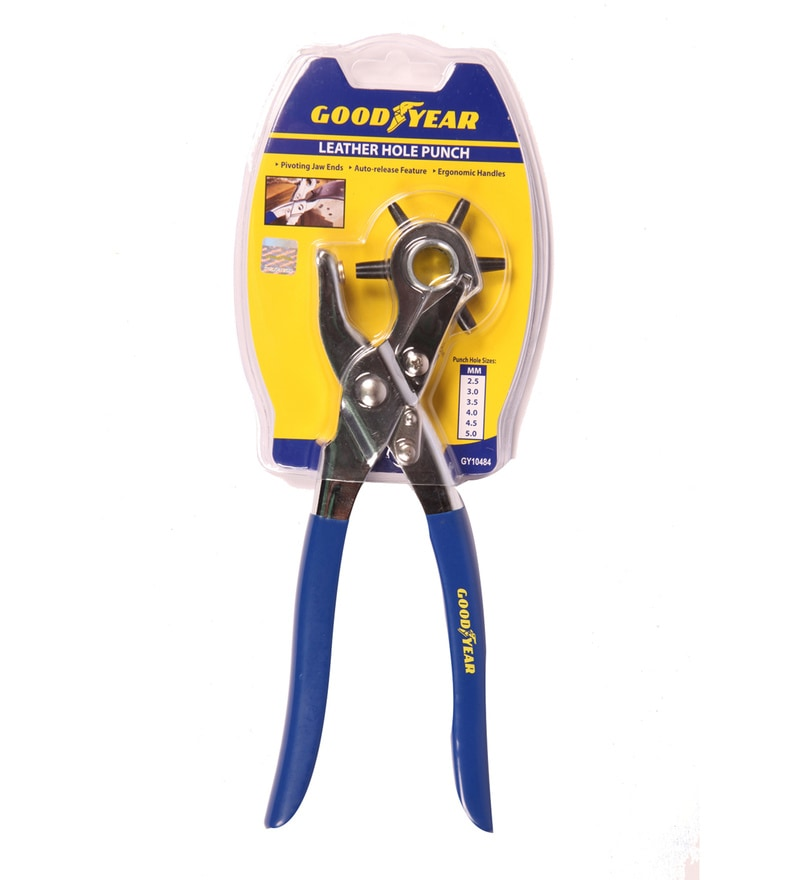 Goodyear Plastic & Steel Leather Hole Punch