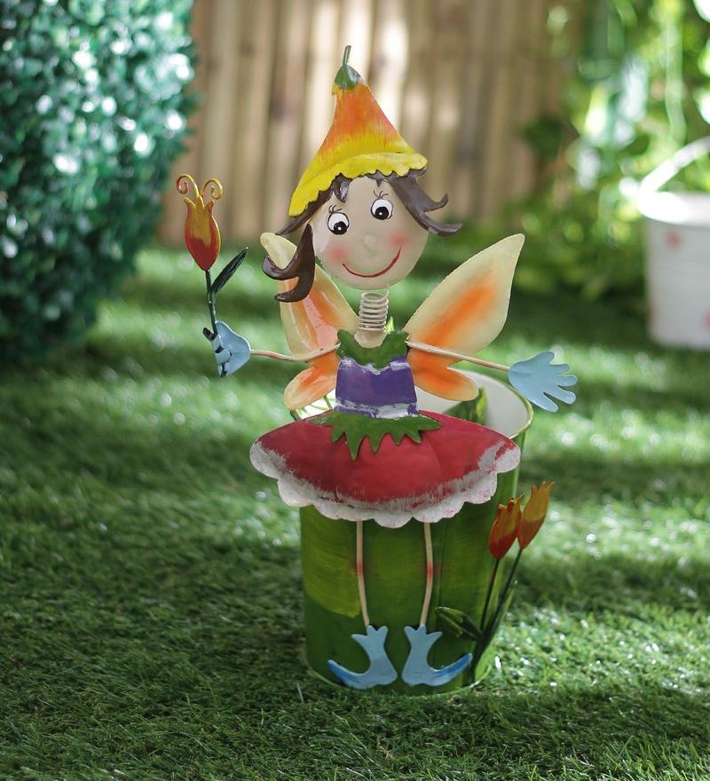Green Girgit Girl Planter