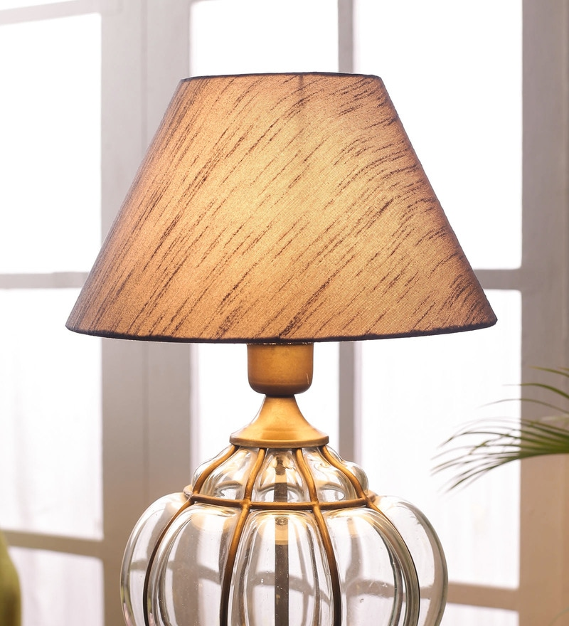 Grey Cotton Lamp Shade By Foziq