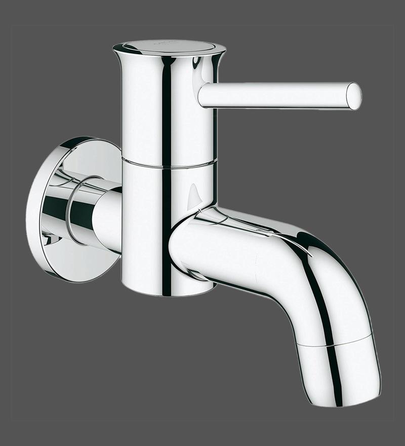 Grohe Bauclassic Chrome Brass Wall Bath Tap (Model: 20239000)