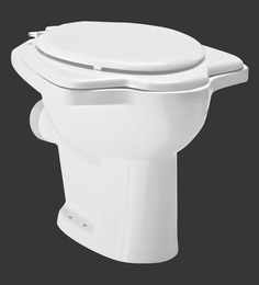 H & R Johnson Coral-Ai-Pf White Ceramic Water Closet With Seat Cover And Flush Tank