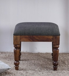 Harleston Stool In Provincial Teak Finish
