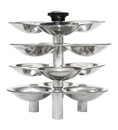 Hawkins Silver Idli Stand Suitable For 3L Cooker For 12 Idlis (G05)