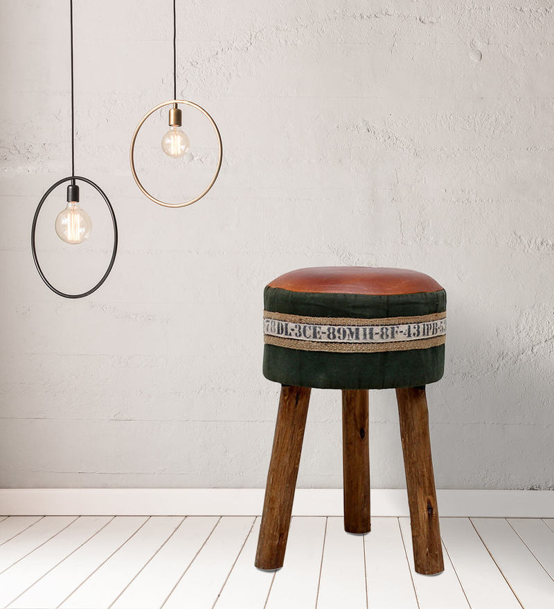 Hadise Stool in Multi-Color by Bohemiana