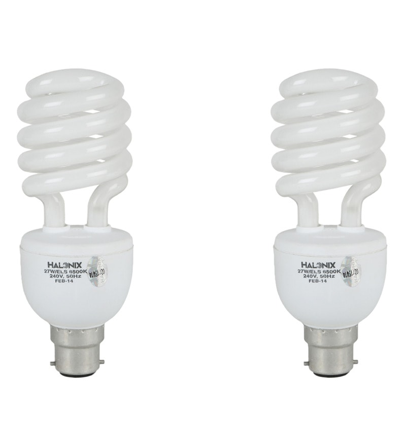 Halonix White 27 W CFL Light - Set of 2