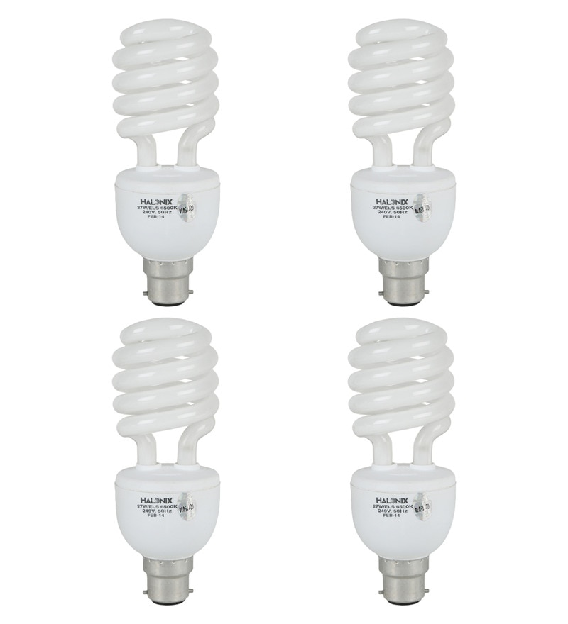 Halonix White 27 W CFL Light - Set of 4
