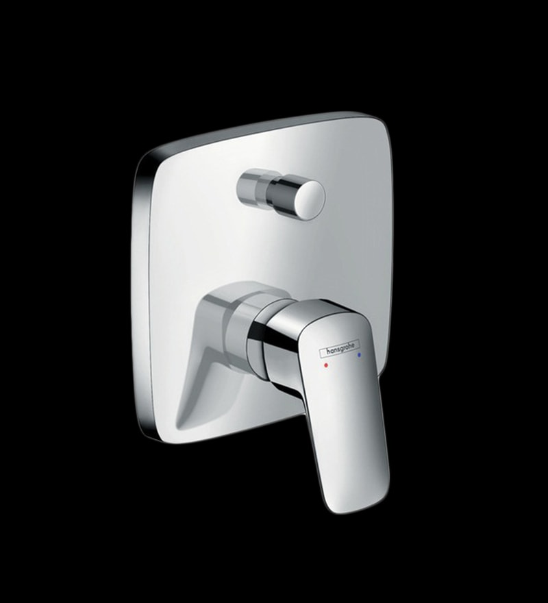 Hansgrohe Logis Chrome Brass Single Lever Bath Concealed Mixer
