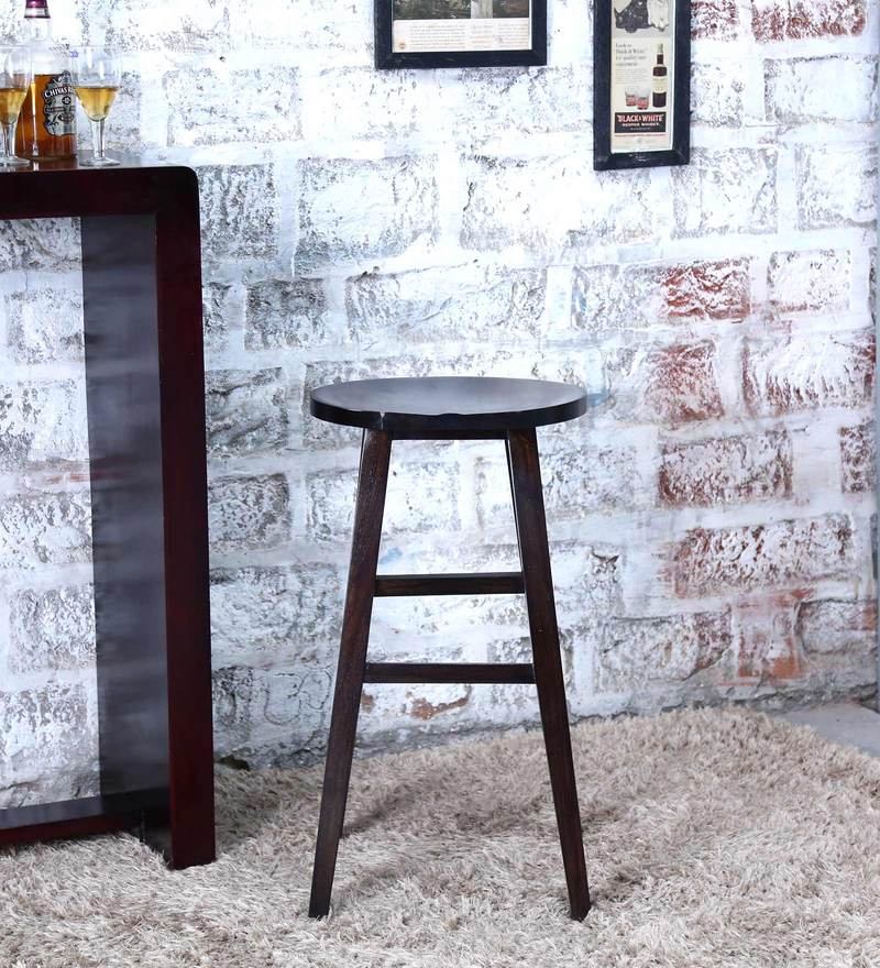 Harrington Bar Stool in Warm Chestnut Finish by Woodsworth