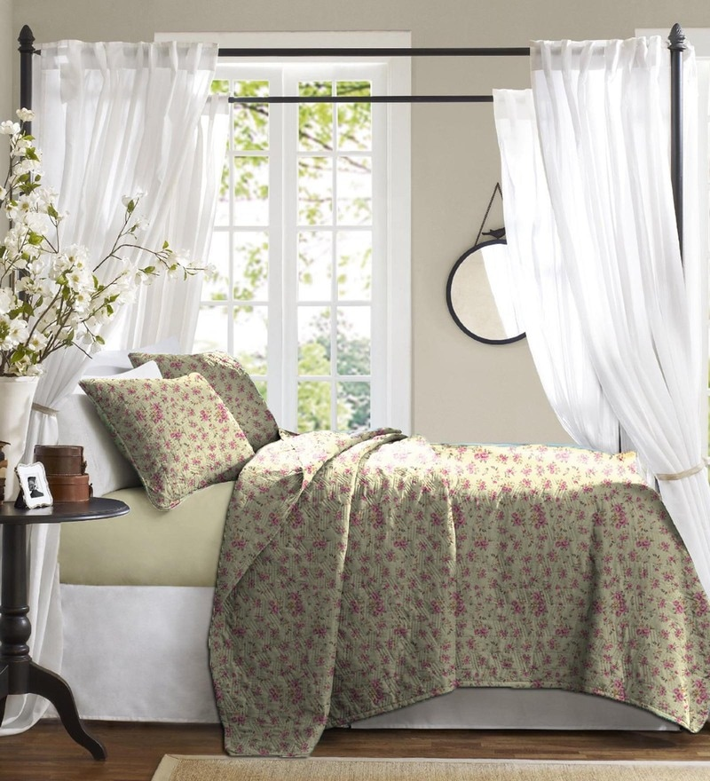 Haus and Sie Cream Cotton Bed in a Bag Bedding Set