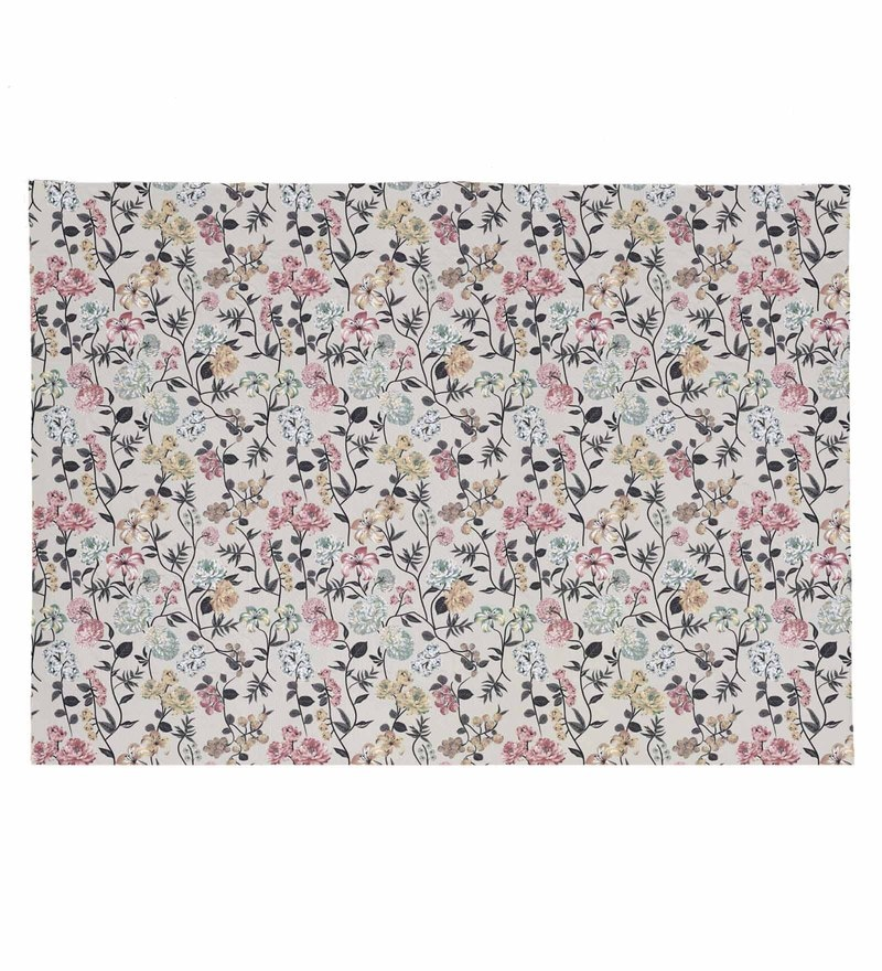Haus and Sie Printed Multicolour Canvas Placemats - Set of 6