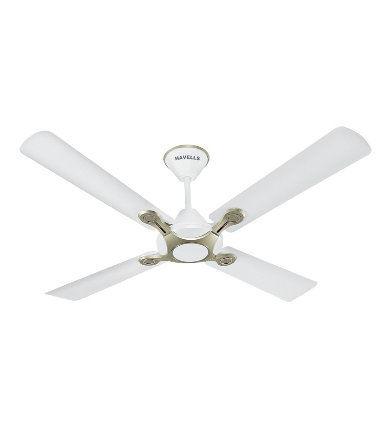 Havells 1200 Mm Fan Leganza  4B P. White Silver