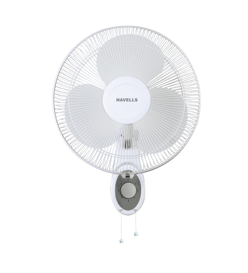 Havells 400Mm Wall Fan Swing Platina White