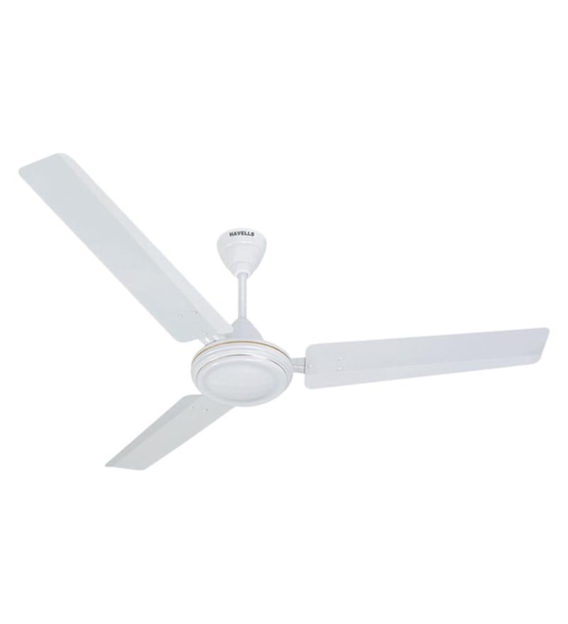 Havells ES 50 Premium Five Star 1200 mm White Ceiling Fan