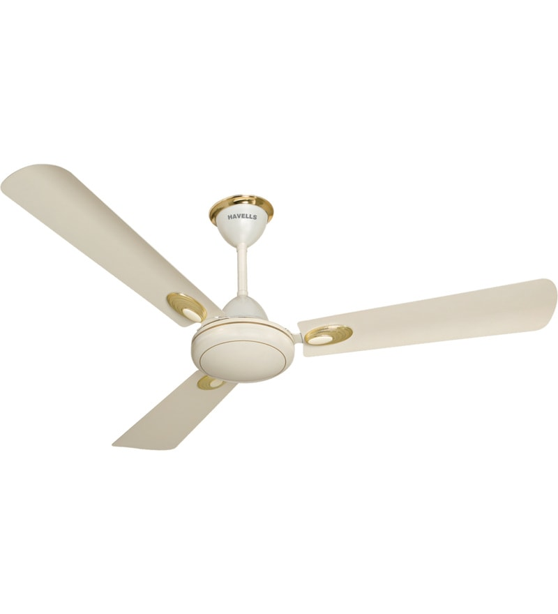 Havells Ss 390 Deco 1200 mm Pearl Ivory & Gold Ceiling Fan
