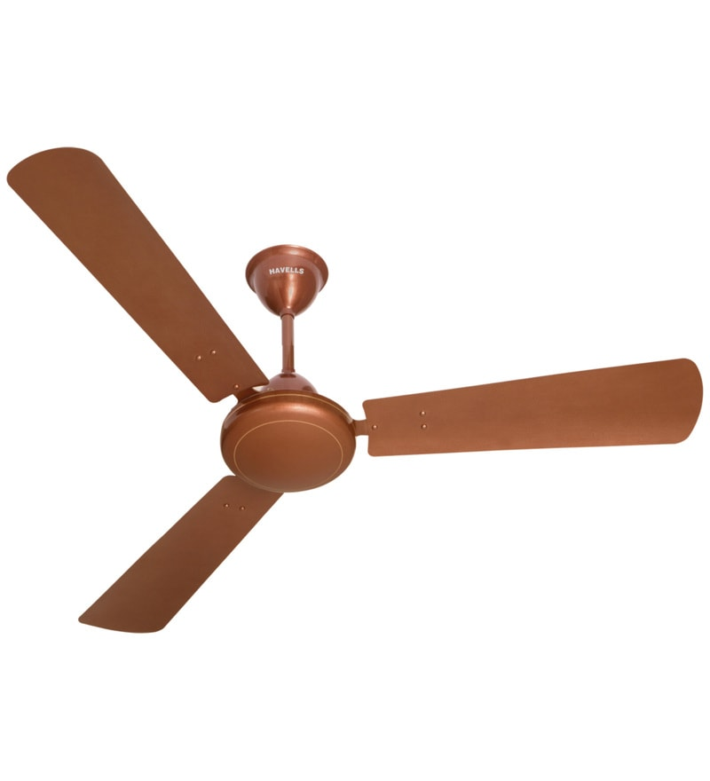 Buy havells orion 1200 mm antique copper ceiling fan online havells ss 390 metallic 1200 mm sparkle brown ceiling fan aloadofball Gallery