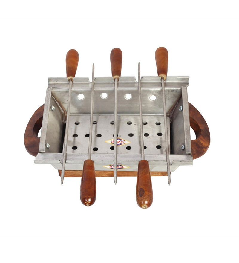 Hazel Stainless Steel Barbeque/Grill Set