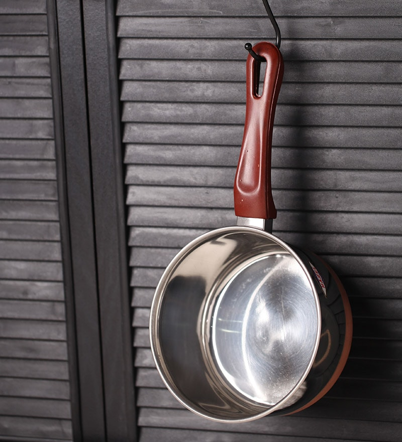Stainless Steel Copper Bottom Sauce Pan by Hazel