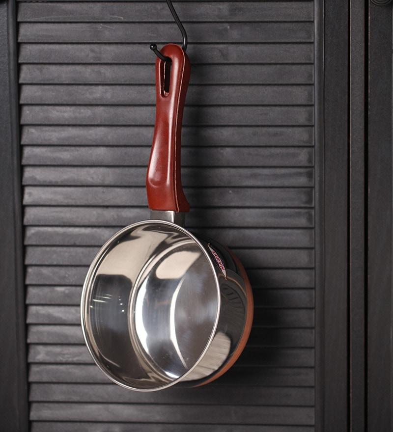 Stainless Steel Copper Bottom Sauce Pan by Hazel