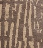 Beige & Brown Viscose 92 x 64 Inch Hand Made Indo Nepal Tibetan Carpet by HDP