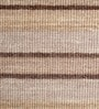 Beige & Brown Wool 80 x 56 Inch Hand Woven Flat Weave Loom Knotted Carpet by HDP