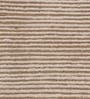 Beige & Silver Wool & Viscose 72 x 48 Inch Hand Woven Loom Knotted Carpet by HDP