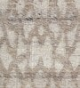 HDP Beige Wool 66 x 56 Inch Hand Woven Flat Weave Area Rug