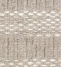 Brown Wool 80 x 56 Inch Hand Made Flat Weave Carpet by HDP