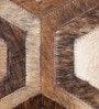 Cola Tiger Leather 80 x 56 Inch Hand Made Carpet by HDP