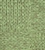 Green Cotton 80 x 56 Inch Indian Hand Woven Carpet by HDP
