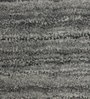 Grey & Black Wool 92 x 64 Inch Hand Woven Solid Carpet by HDP
