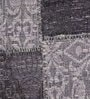 Grey Wool 80 x 56 Inch Hand Woven Flat Weave Area Rug by HDP