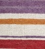 HDP Multicolour Wool 80 x 56 Inch Hand Woven Flat Weave Area Rug