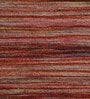 Red Wool 76 x 52 Inch Hand Woven Flat Weave Area Rug by HDP