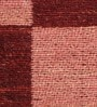 Red Wool 80 x 56 Inch Hand Woven Flat Weave Area Rug by HDP