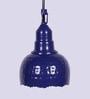 Height of Designs Blue 40W LED Pendant Light