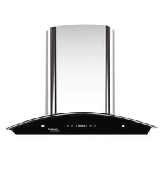 Hindware Nevio Silver 60 Cm 1200 M3/h Auto Clean Touch Hood Chimney With LED