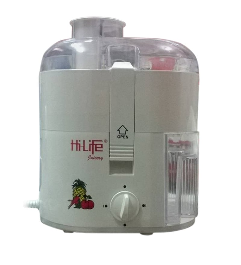 HiLife White Juicer