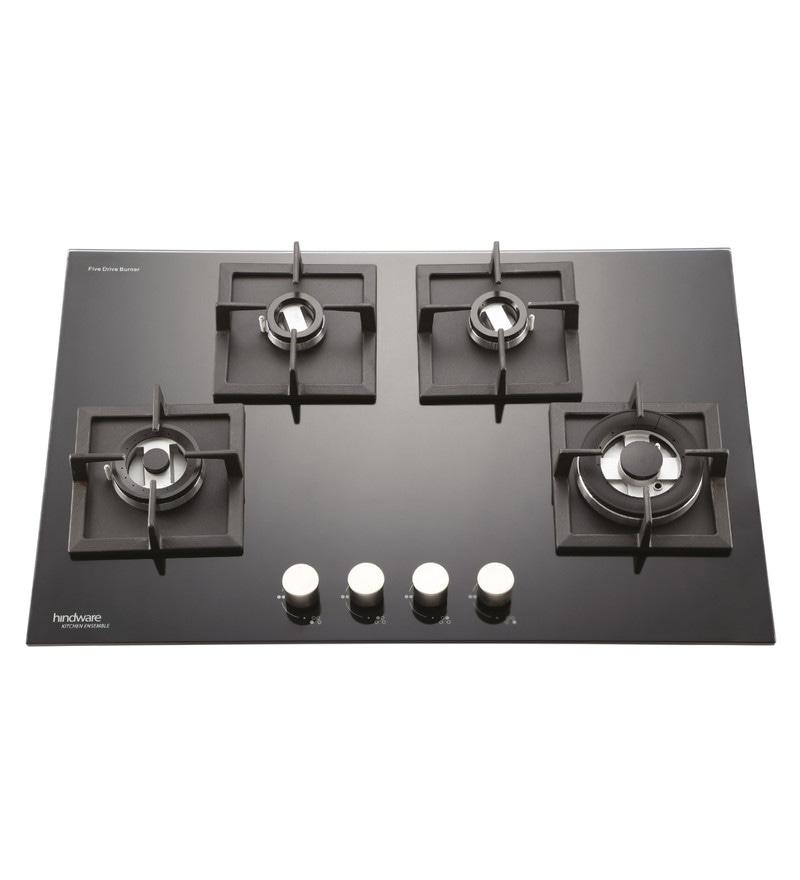 Hindware Bravia Glasstop 4 -burner Hob