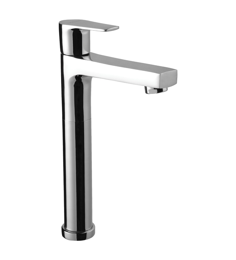 Hindware Chrome Brass Basin Tap (Model: F360002CP)
