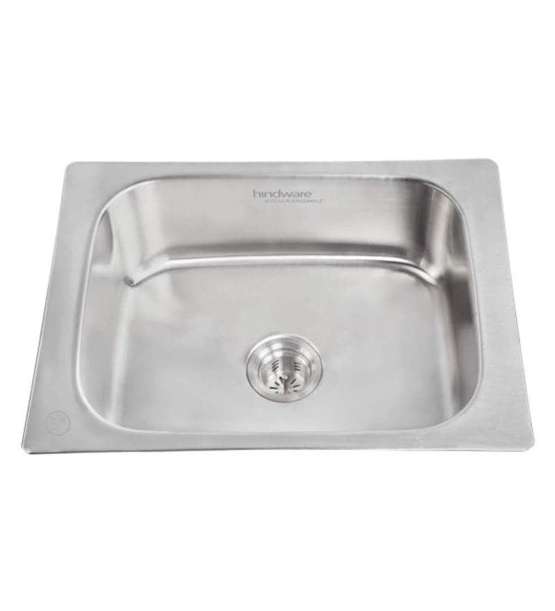 Hindware Flamingo Stainless Steel Kitchen Sink (Model No: Flamingog24X18X8)