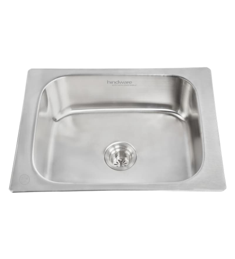 Hindware Flamingo Stainless Steel Kitchen Sink (Model No: Flamingom24X18X10)