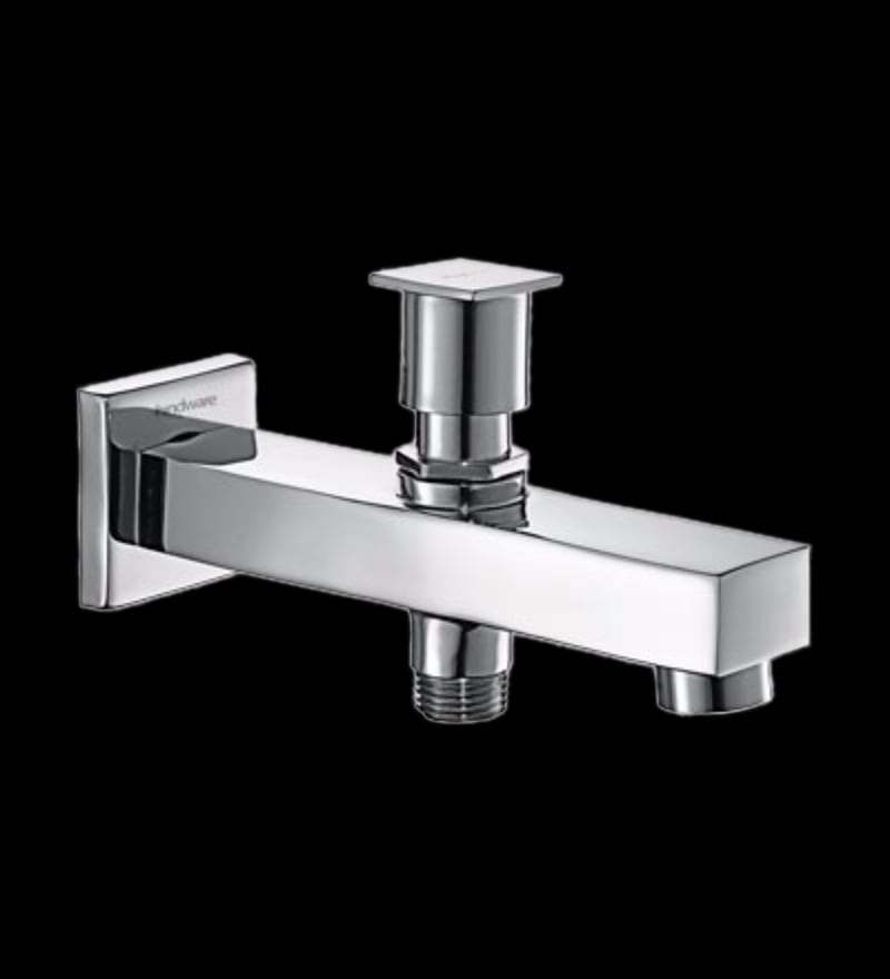 Hindware Rubbic Chrome Brass Bath Tap (Model: F190008Cp)