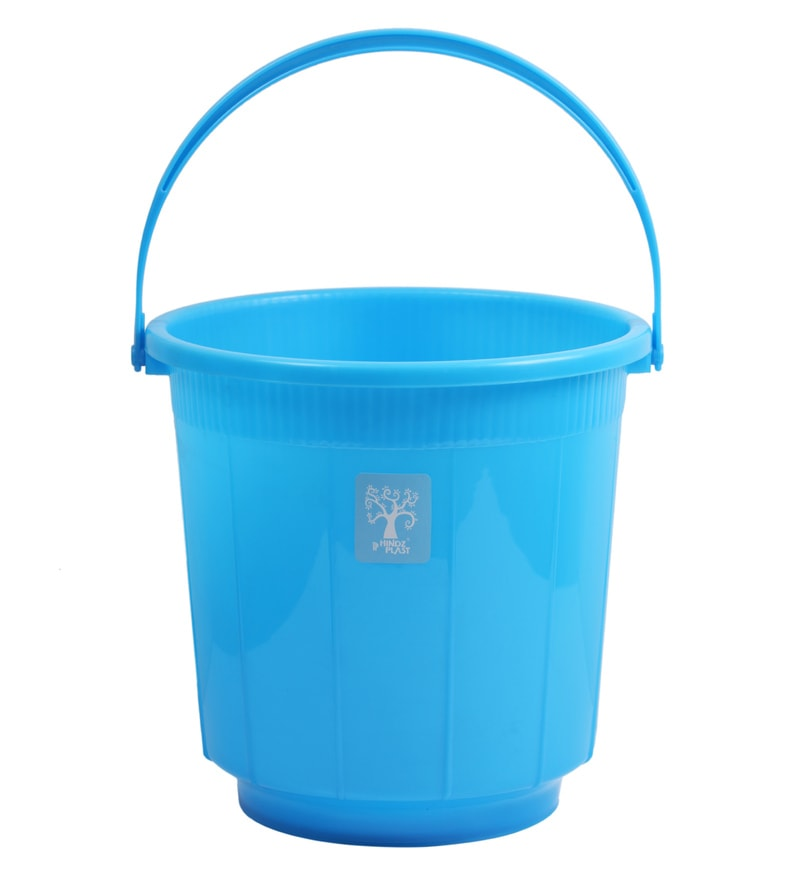 buy hindz plast plastic 16 l sky blue bucket online buckets tubs