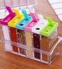 Hitplay Square Spice Set with Tray - Set of 6