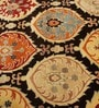 Multicolour Wool 96 x 60 Inch Ethnic Area Rug by HNS Homes