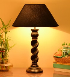 Homesake Blue Cotton Table Lamp - 1602078
