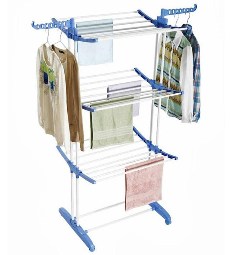 Home Creations Stainless Steel Blue Cloth Dryer