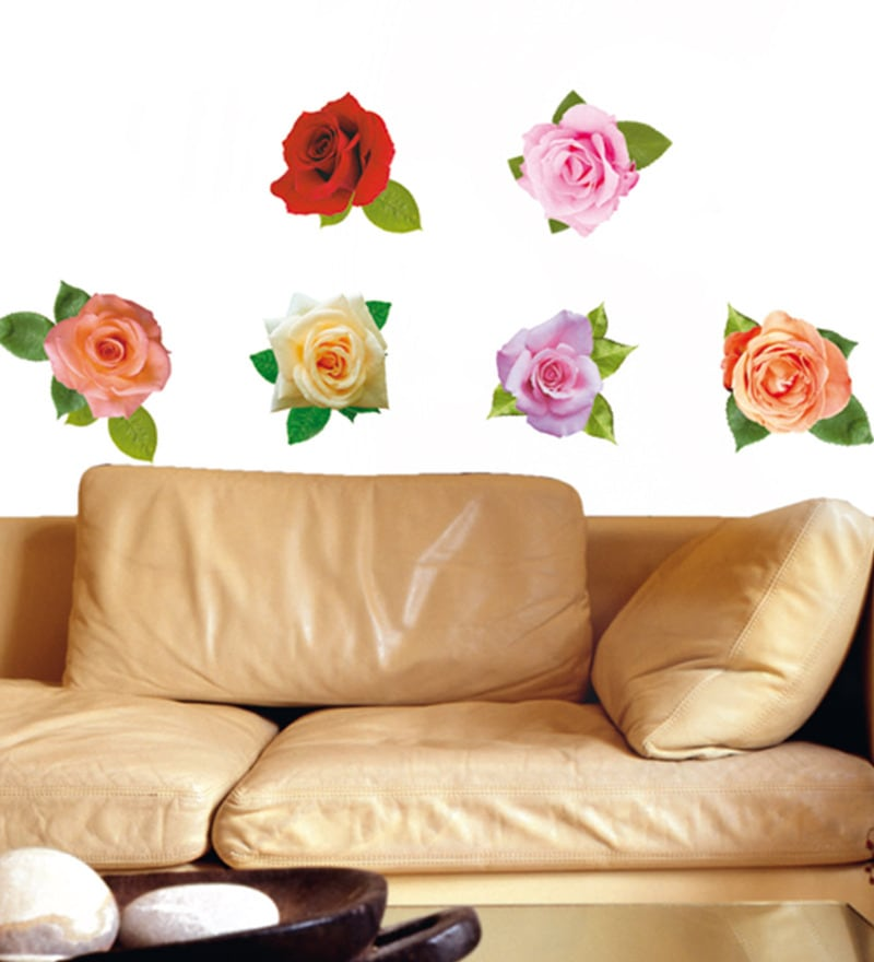 Vinyl Dcor Easy Roses Wall Sticker by Home Decor Line