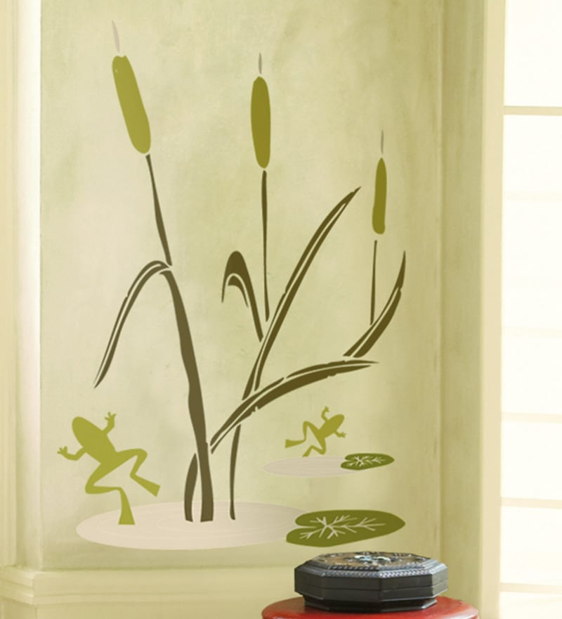 Vinyl Frog Wall Sticker by Home Decor Line