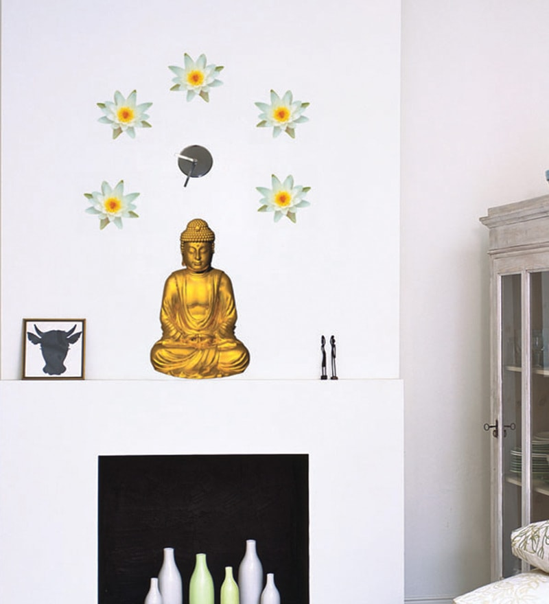 Vinyl Gautama Wall Sticker by Home Decor Line